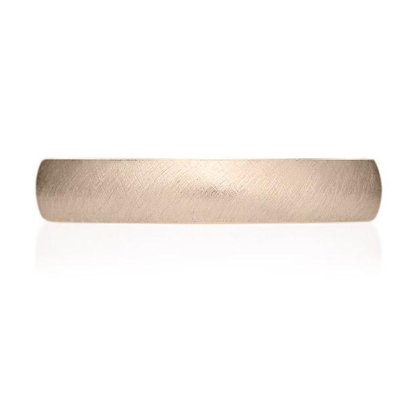 K18CG オーバル リング サティーン 3.5mm 4-14
