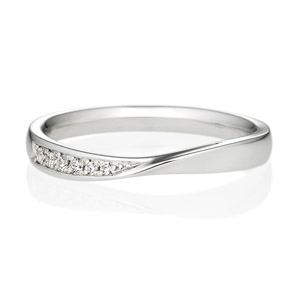ウェーブラインSの結婚指輪