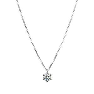 PT900 ダイヤモンド 6ポイントネックレス for 0.30ct~