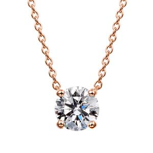 K18PG ダイヤモンド 4ポイントネックレス for 0.50ct〜