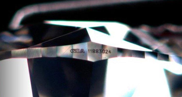 GIAのガードル刻印