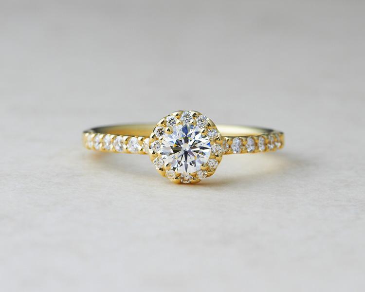 ゴールドの婚約指輪sp用