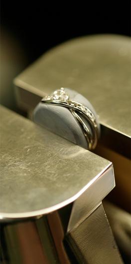 婚約指輪のお直し