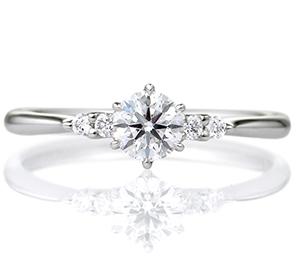 婚約指輪サイドストーンタイプ