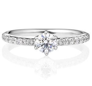婚約指輪エタニティタイプ