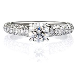 婚約指輪パヴェタイプ