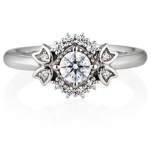婚約指輪クラシカルタイプ