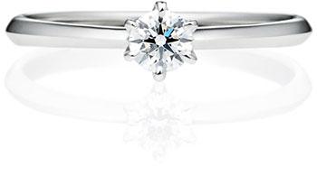 一般平均品質の婚約指輪