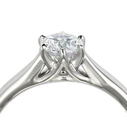 石座 シャトンのデザイン 立爪型シャトン