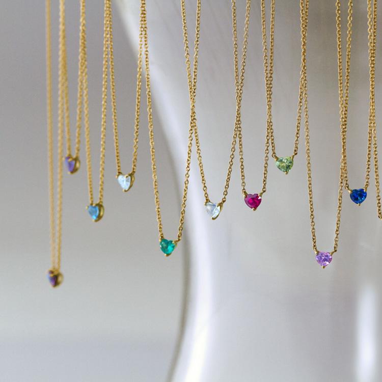 Heart Brilliantcut Necklace
