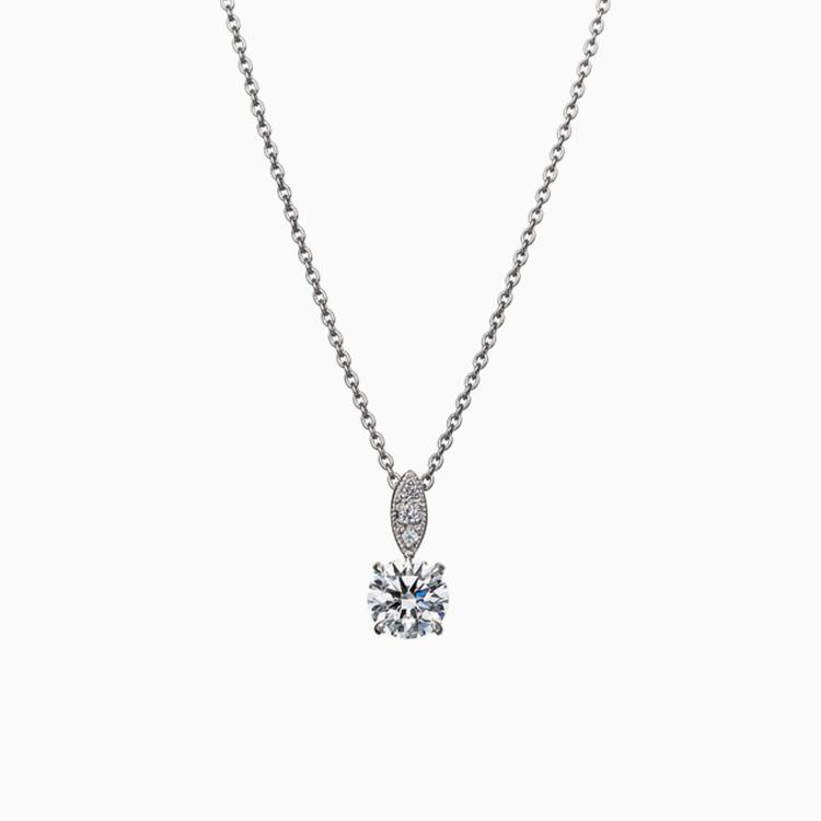 Milgrain Necklace