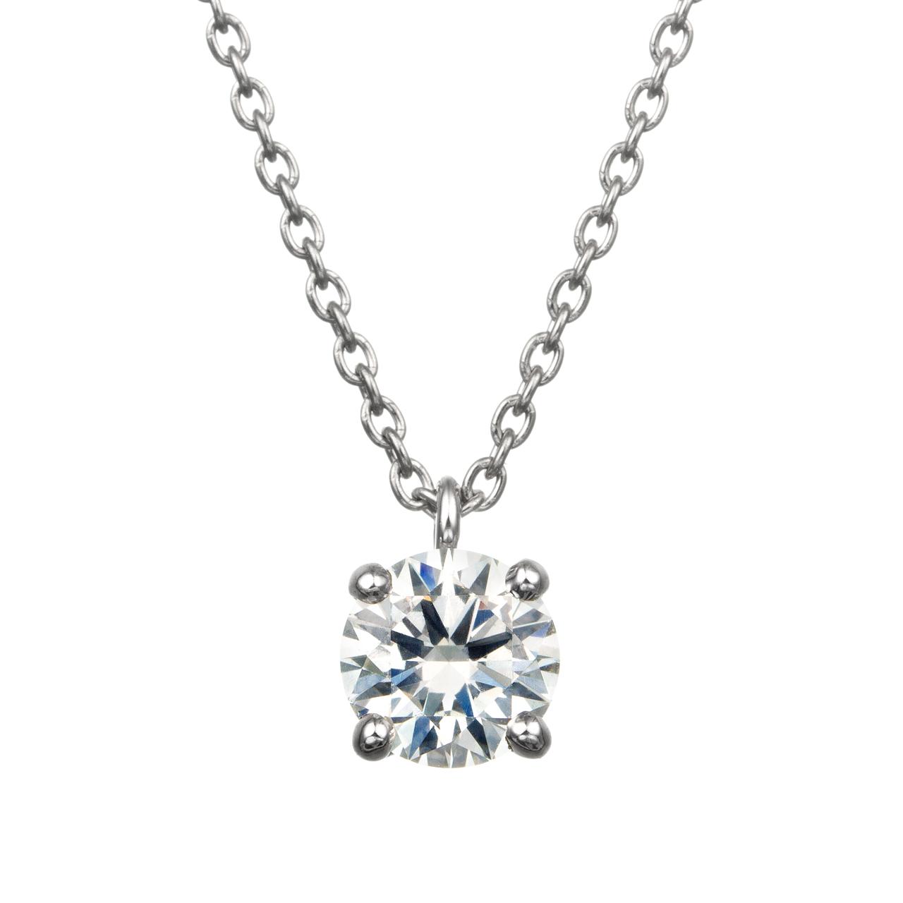 ダイヤモンド4ポイントスルーペンダント