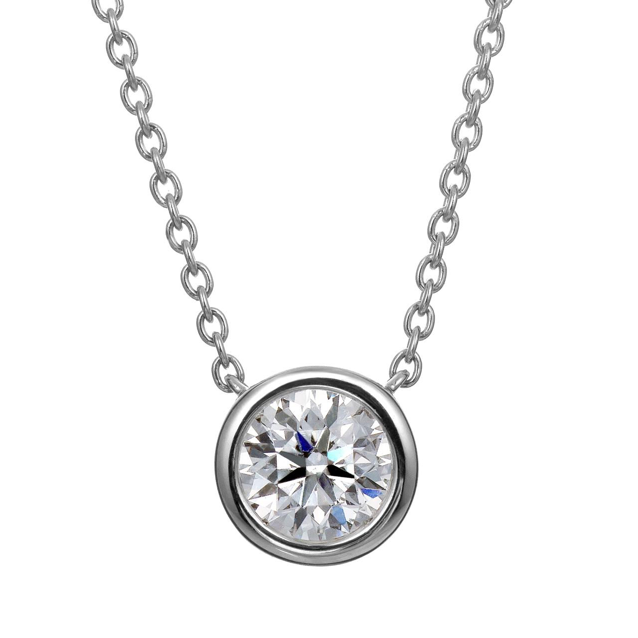 ダイヤモンドサークレットネックレス