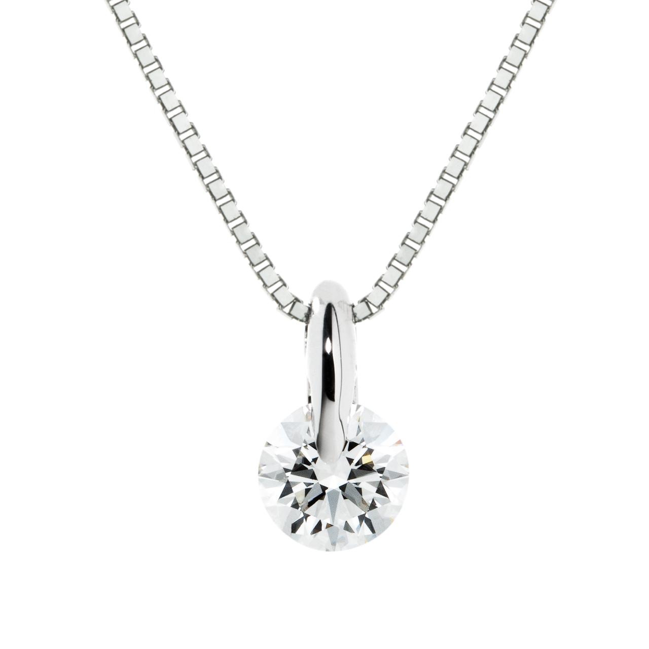 ダイヤモンド1ポイントペンダント