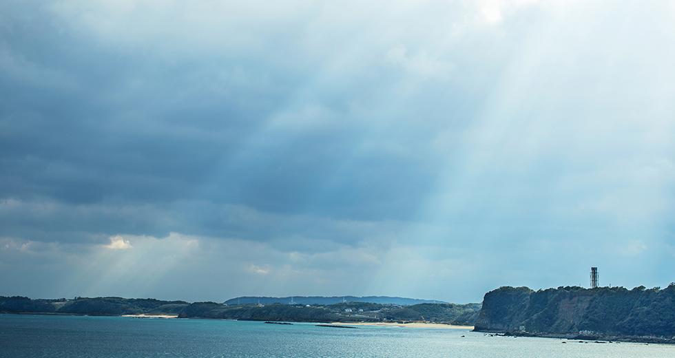 日本の自然豊かな海
