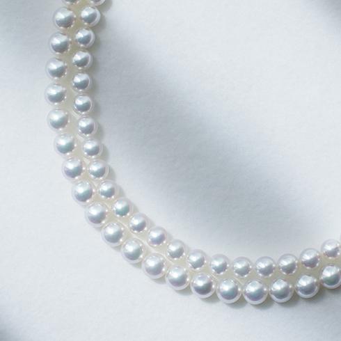ブリリアンス+の真珠のサイズ