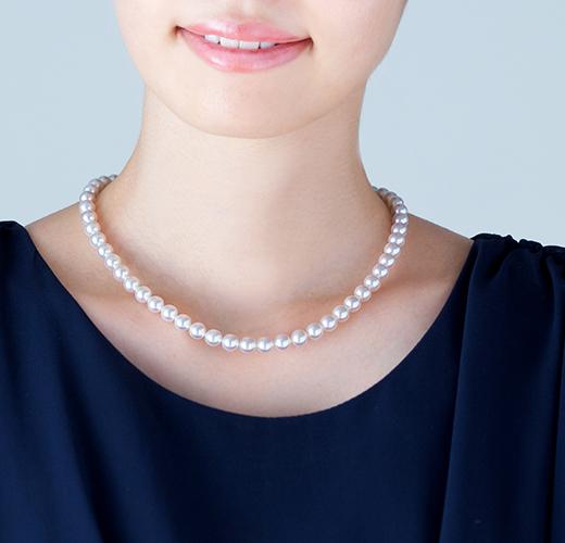 真珠 装着写真