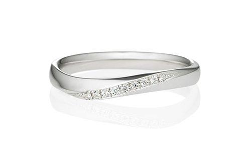ナチュレル ダイヤモンド エングレーブ 2.7mm