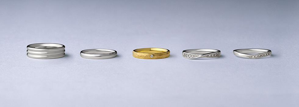 理想のデザインにカスタマイズできる結婚指輪