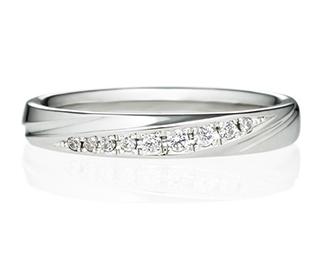 ストレートラインの結婚指輪を見る